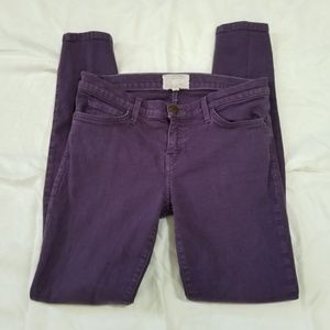 Current Elliott Jeans 29 Ankle Skinny Purple